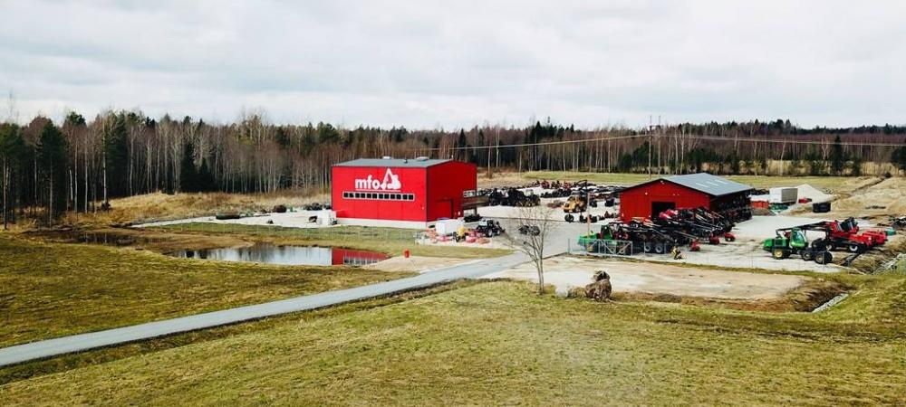 Komatsu Forest Oy moves Komatsu machine sales to new dealer in Estonia