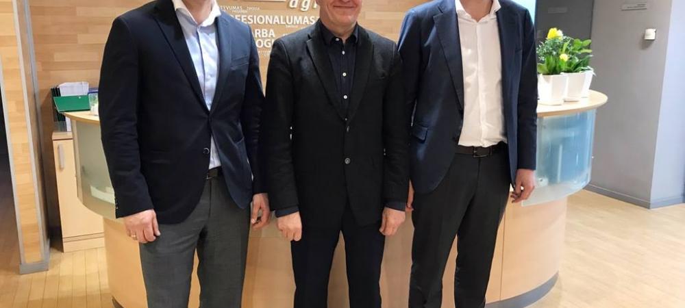 Uzņēmums Komatsu Forest OY pabeidz Baltijas tirgotāju reorganizāciju Lietuvā