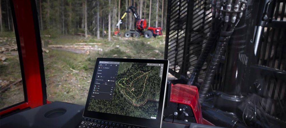 View your work with new eyes – Komatsu Forest launches new digital tool that helps visualise the work in the forest