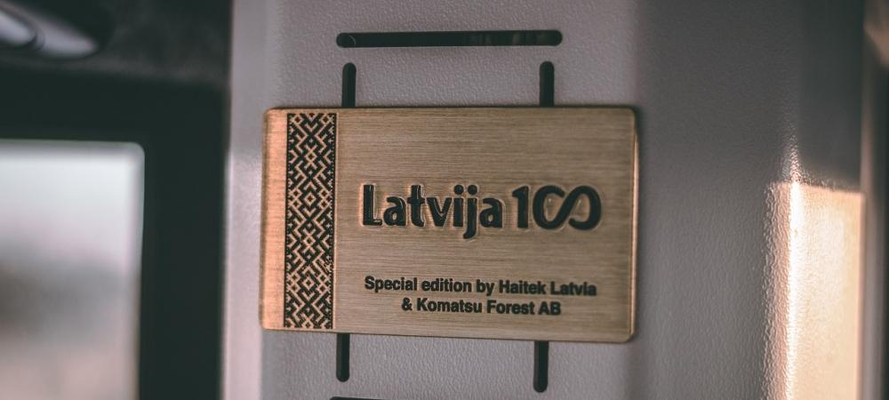 Komatsu Latvijai!