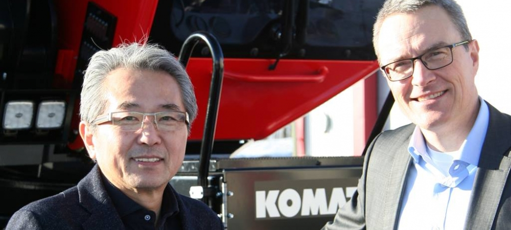 New CEO of Komatsu Forest AB - Jens Bengtsson