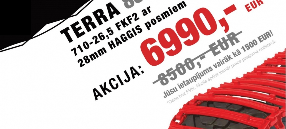 Clark Terra 85 tracks for special price