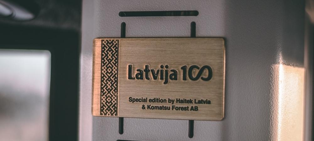 Komatsu For LATVIA!
